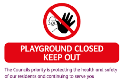 Hellingly Play Areas CLOSED